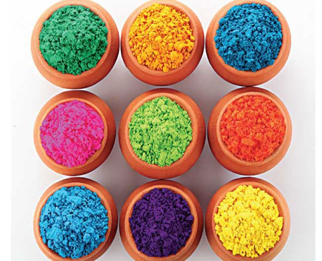 5958419H-11-Herbal-Holi-Colours-Pink--Red-Green--Yellow