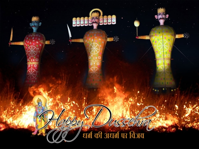 Dussehra-Wallpaper-Greeting